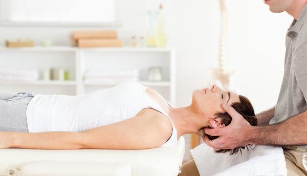 Fysiotherapeut nek