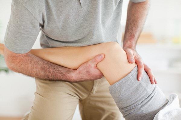 Fysiotherapiepraktijk knie onderzoek