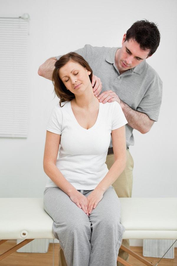 Fysiotherapiepraktijk nek onderzoek
