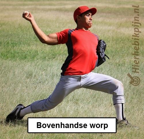 elleboog honkbal softbal baseball blessure binnenband worp fase werpsport blessure