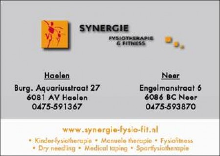 Synergie Fysiotherapie & Fitness