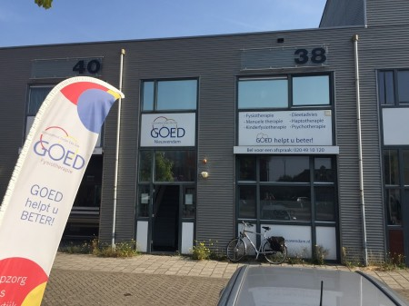 Fysiotherapie GOED Amsterdam - Nieuwendam