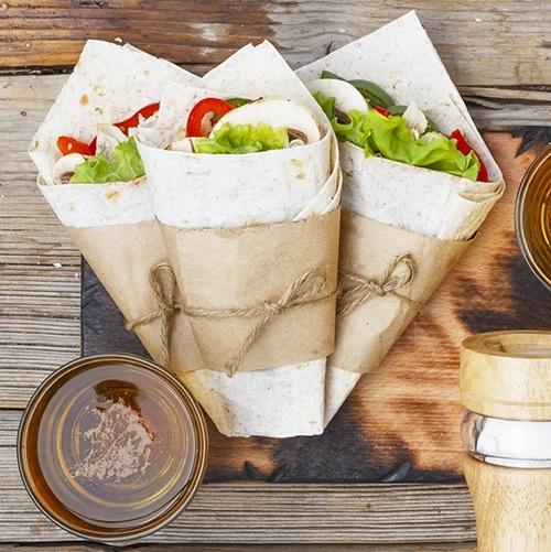 gezond eten wraps maaltijdbox