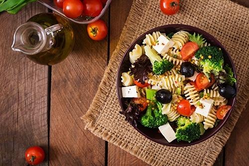 gezonde maaltijd salade recept snel makkelijk simpel