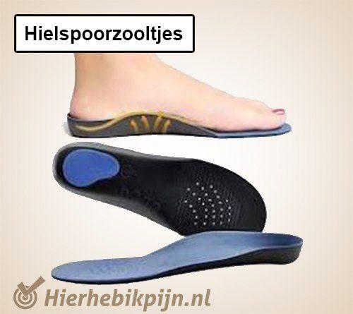 hielspoorzooltjes voetklachten