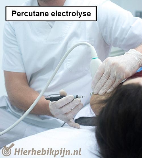 percutane electrolyse