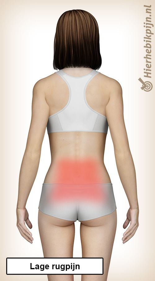 rug lage rugpijn rugklachten pijn
